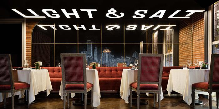 Dining Area of Light & Salt Backstage located in Huangpu, Shanghai
