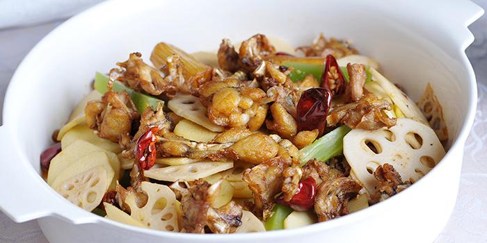 Dish from Tian La Green Fashion Restaurant (Jin Hongqiao) located in Changning, Shanghai