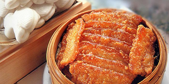 Pork Bun from Tian La Green Fashion Restaurant (Jin Hongqiao) located in Changning, Shanghai
