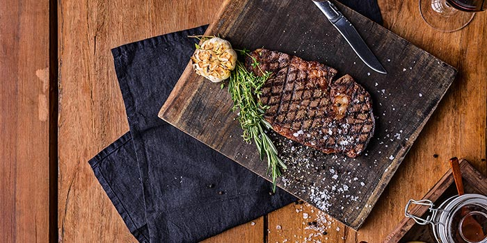 Dishes of THE CUT Steak & Fries located in Xuhui, Shanghai
