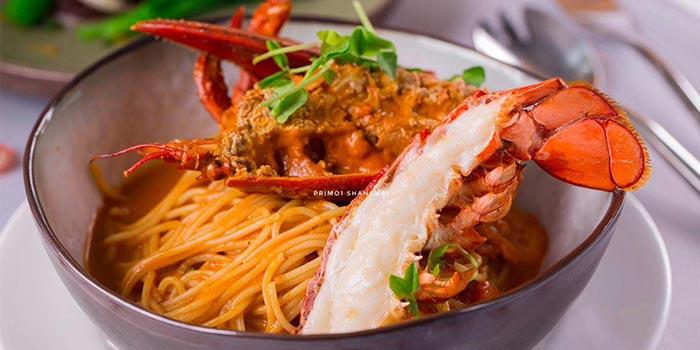 Dishes of PRIMO1 located on Hubin Lu, Huangpu, Shanghai