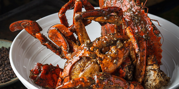 Black Pepper Crab from Jumbo Seafood (IFC) located in Pudong, Shanghai