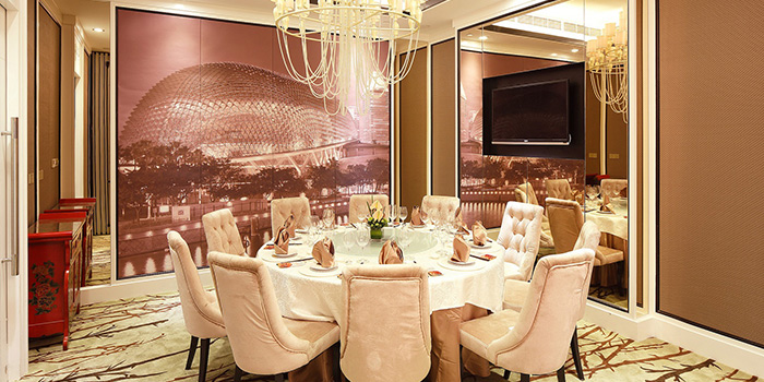 Private room of Jumbo Seafood (IAPM) located in Xuhui, Shanghai