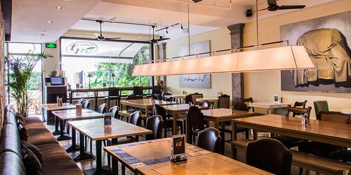 Indoors of Coffee Tree located in Xuhui, Shanghai