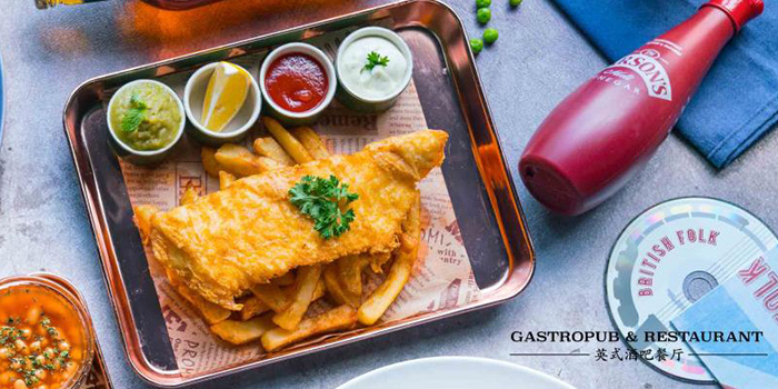 Fish & Chips from The Isles (Changning Raffles City) located in Changning, Shanghai
