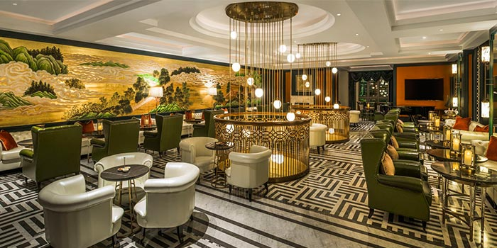 "Dining Area of St.Regis Bar(St.Regis Jing""An) located in Jing""An, Shanghai"