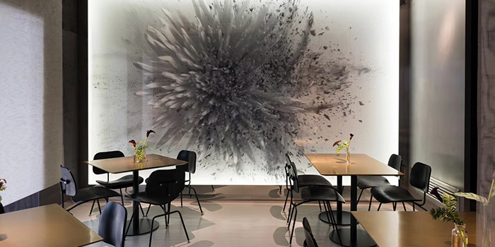 Interior of FED by JULY located in Xuhui, Shanghai