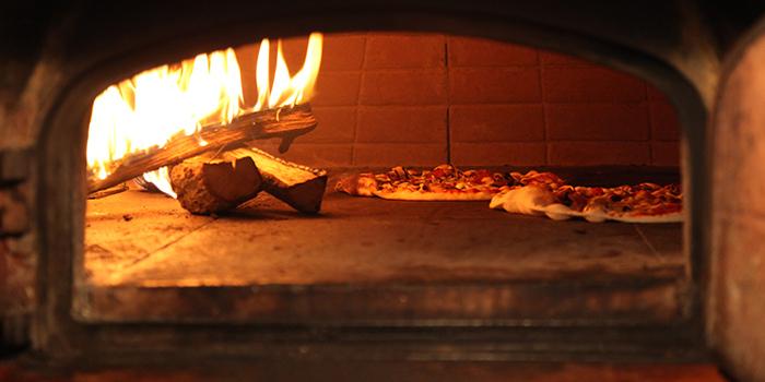 Pizza Oven of La Strada located in Xuhui, Shanghai
