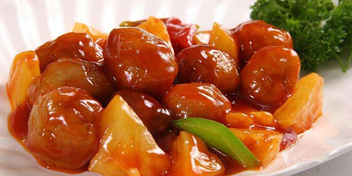 Sweet Sour Pork from Starz Kitchen (Shanghai Centre) located in Jing