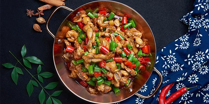 Crab of Gu Yi Hunan Restaurant located on Fumin Lu