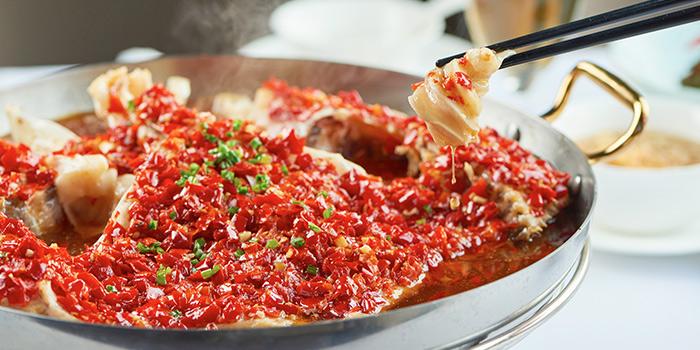 Fish of Gu Yi Hunan Restaurant located on Fumin Lu