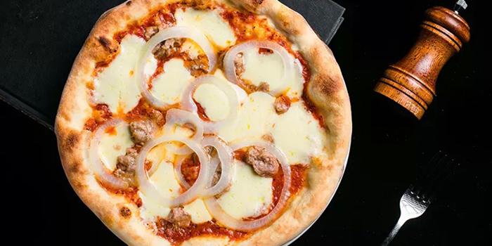 Pizza of La Vite (JIanguo Xi Lu) locate in Xuhui, Shanghai