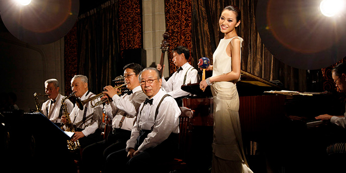 People of The Jazz Bar (Fairmont Peace Hotel) located in Huangpu, Shanghai