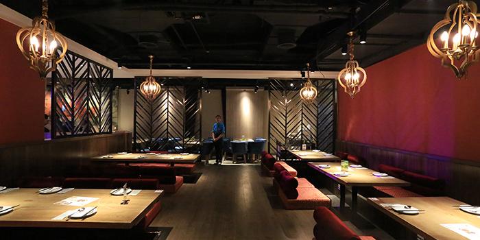 Dining of Yershari (Nandan Dong Lu) located in Xuhui, Shanghai