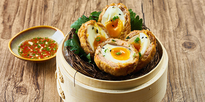 Egg of Urban Cafe (The Sukhothai) Located in Jing