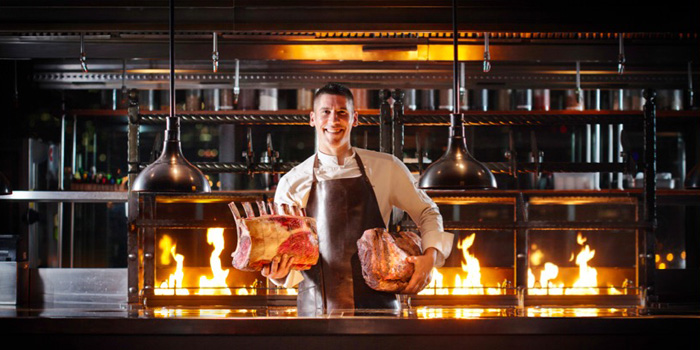 Chef of 1515 West Chophouse & Bar located in Shangri-La Jing