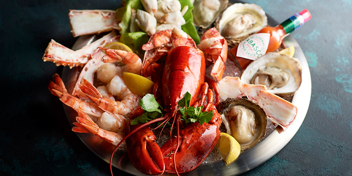Seafood Platter from Morton