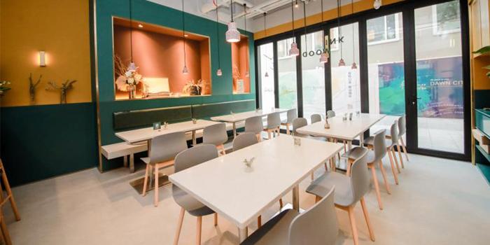 Indoor of INKWOOD Restaurant & Bar located in Changning District, Shanghai