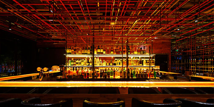 Indoor of Whoops Restaurant & Bar located in Huangpu District, Shanghai