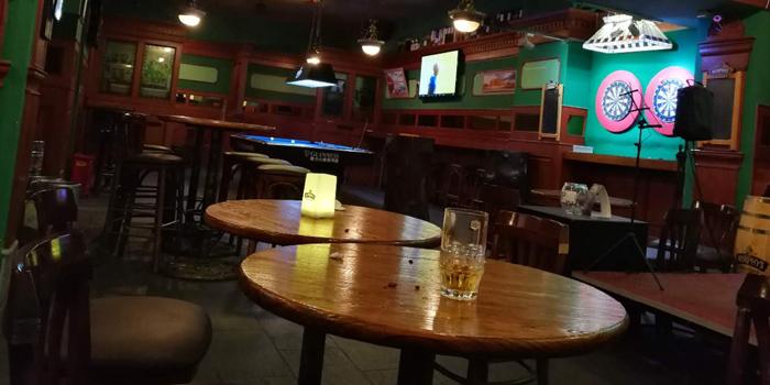 indoor of Irish Pub No.9 (Jiujiang Lu) located in Huangpu District, Shanghai