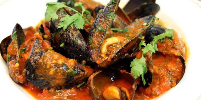 Food of Hit Wicket Indian Restaurant & Bar located in Hongkou District, Shanghai