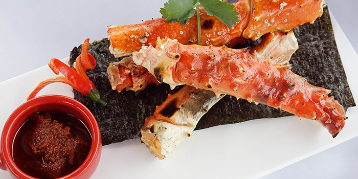 Crab Legs from Tops & Terrace located in Xuhui, Shanghai