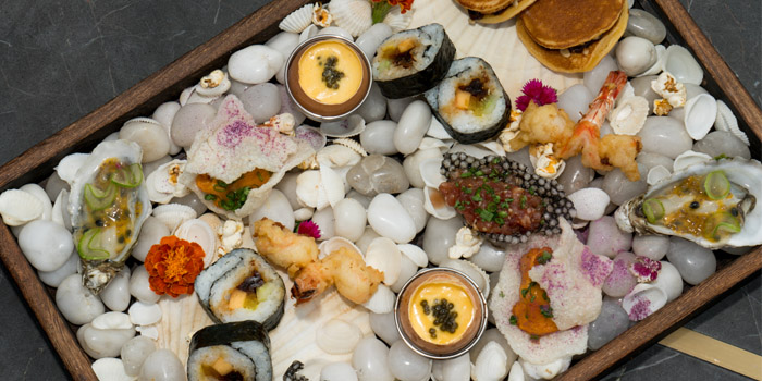 Platter of UMI Restaurant & Terrace Located in Jing
