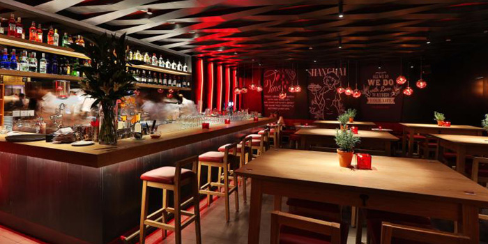 Indoor of Vapiano (Lujiazui) Located in Pudong District, Shanghai