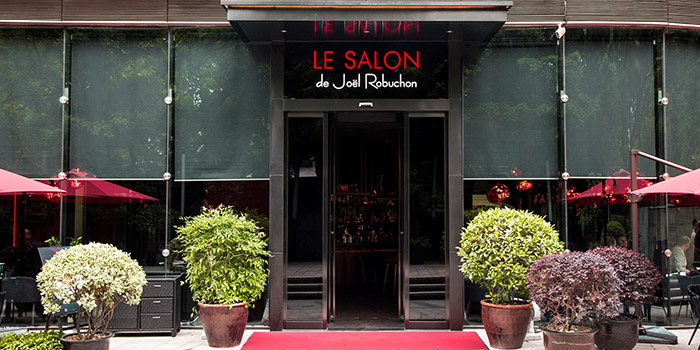 Outdoor of Le Salon de Joël Robuchon(Reél Mall) located in Jing