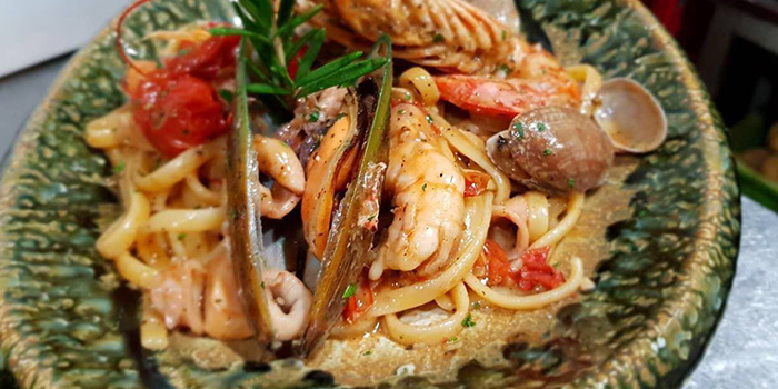 Seafood Pasta from Palatino Roman Cuisine located in Xuhui, Shanghai