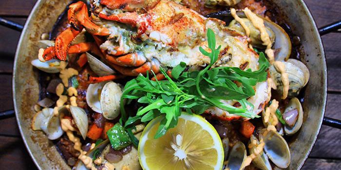 Seafood Paella from Husk in Jing