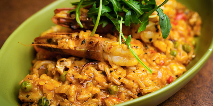 Seafood Risotto from Bistro Burger in Xuhui, Shanghai
