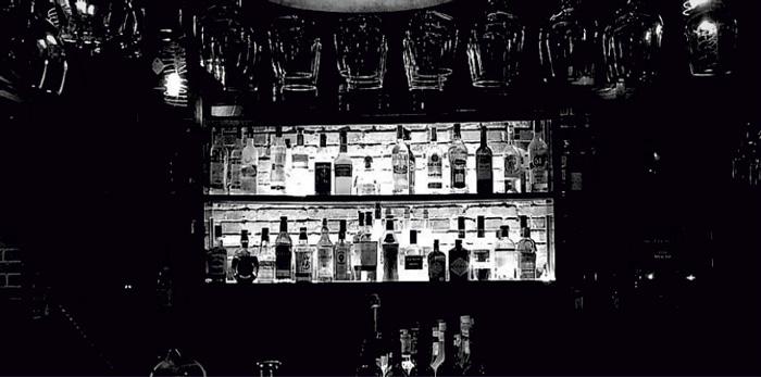 Interior of Uva wine bar in Jing