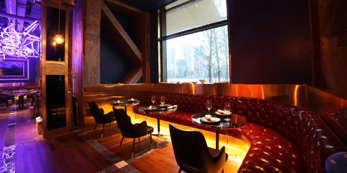 Indoor of Large Eight Lounge & Restaurant