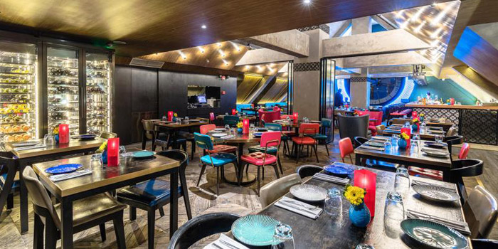Indoor of Azul Tapas & Lounge located in Huangpu, Shanghai