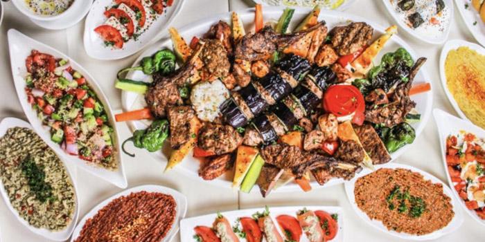 Platter of Pasha Turkish Restaurant in Huangpu, Shanghai