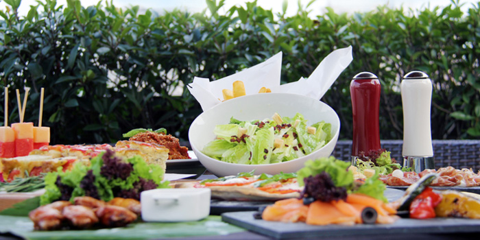 Salads of Tops & Terrace located in Xuhui, Shanghai
