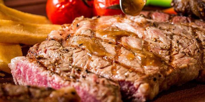 Steak of Whoops Restaurant & Bar located in Huangpu District, Shanghai