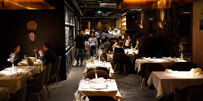 Interior of Pasha Turkish Restaurant in Huangpu, Shanghai