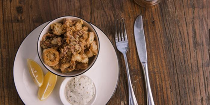 Calamari of Cafe des Stagiaires (Julu Lu) located in Luwan, Shanghai