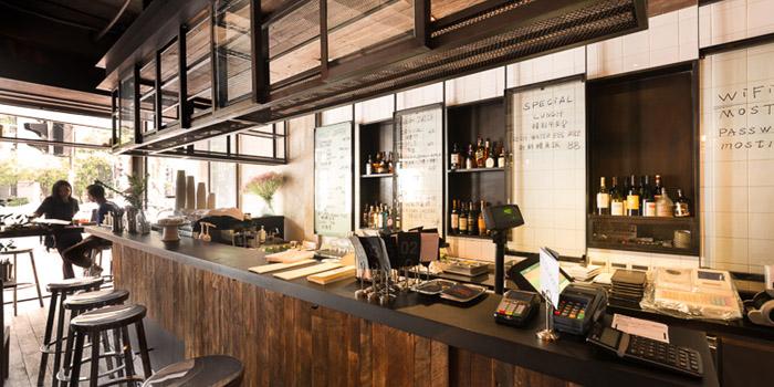 Indoor of Most Restauranet & Bar located in Xuhui, Shanghai
