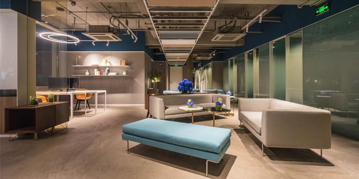 Indoor of CommBiz located in Xuhui, Shanghai