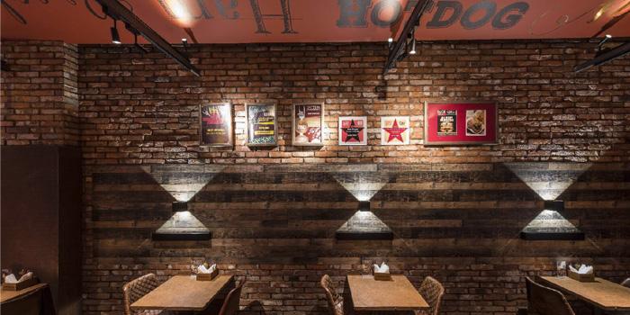 indoor of Bistro Burger located in Xuhui, Shanghai