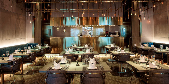 Indoor of Jstone. Italian Kitchen & Bar (Century Link) located in Pudong, Shanghai