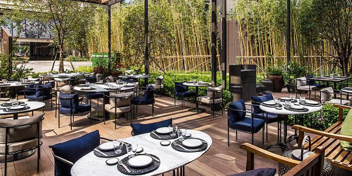 Outdoor of Frasca located in Jing