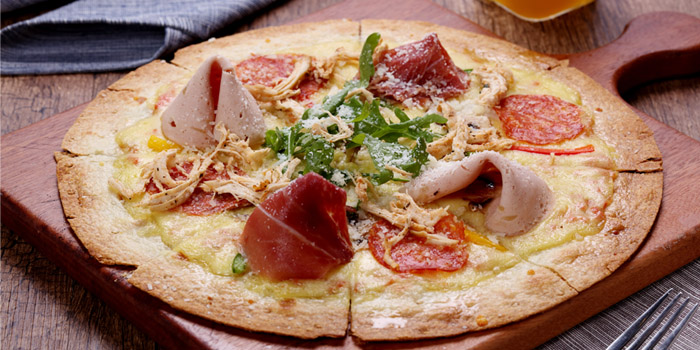 Pizza of KIWIANA (Aegean Shopping Mall) located in Minhang, Shanghai