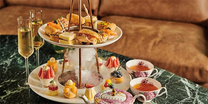 Afternoon Tea of Mia Fringe Dining & Lounge located in Huangpu, Shanghai