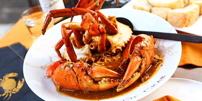 Chilli crab from Barbarossa located in People