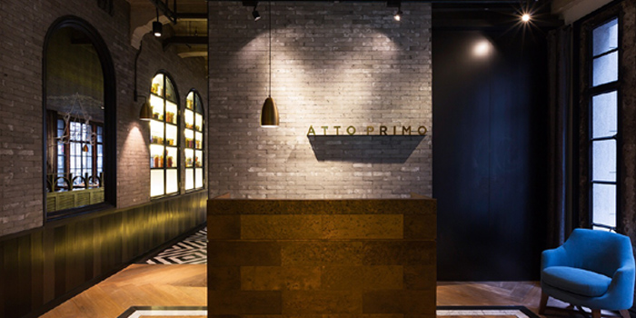 Indoor of Atto Primo located on the Bund