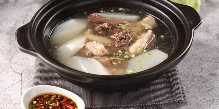 Beef Soup of Starz Kitchen (Shanghai Centre) located in Jing
